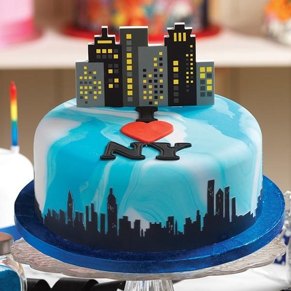 SALE!!! Baked with Love Topper -SKYLINE -τόπερ Ουρανοξύστης