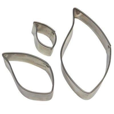 PME Basics -Set of 3 -LEAF Cutters -Βασική Σειρά Κουπάτ Φύλλα 3 τεμ