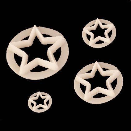 FMM Cutters -STARS -Κουπάτ Αστέρια 4 τεμ