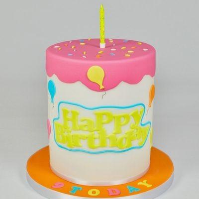FMM Curved Words Cutter 'Happy Birthday' Cutter -Κουπάτ 'Happy Birthday'
