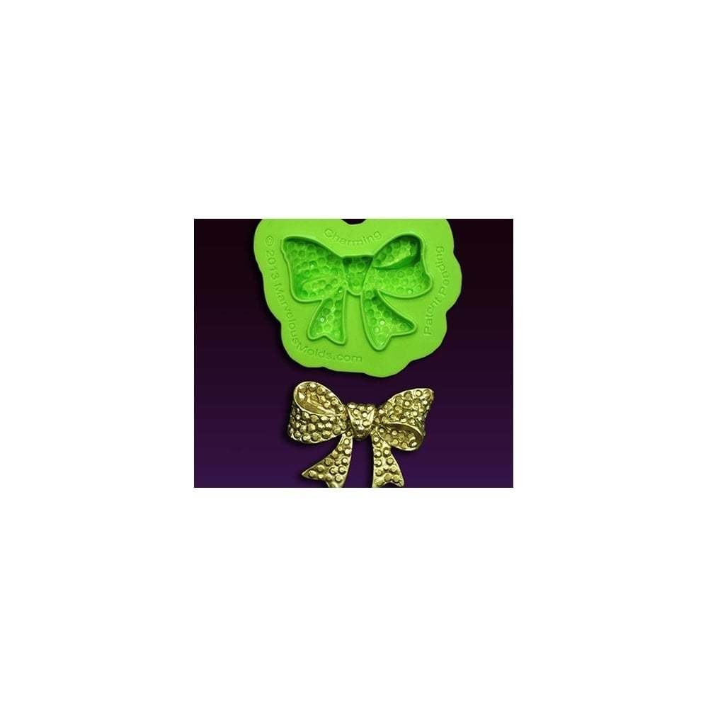 Marvelous Molds Silicone Mould By Marina Sousa -CHARMING BOW BROOCH -Καλούπι Καρφίτσα