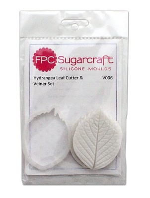 FPC Cutter & Veiner Set -HYDRANGEA LEAF