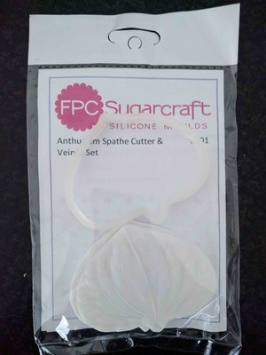 FPC Cutter & Veiner Set -ANTHURIUM SPATHE