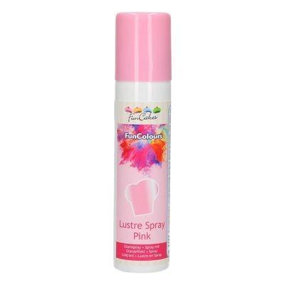 FunCakes Edible Spray -METALLIC PINK 100ml - Σπρει Μεταλλικό Ροζ