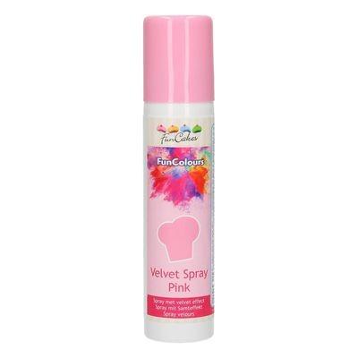 FunCakes Edible Spray -VELVET PINK 100ml - Σπρει Ροζ