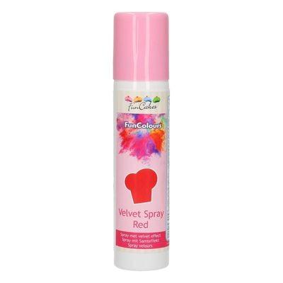 FunCakes Edible Spray -VELVET RED 100ml - Σπρει Κόκκινο