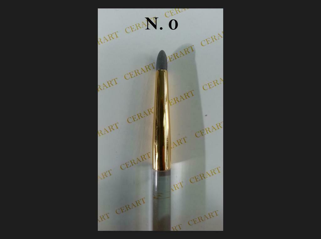 Cerart Round Tip Silicone Brush no.0 -Γκρι σκούρο βούρτσα σιλικόνης άκρη no.0