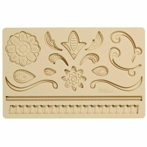 Wilton Silicone Mould -LACE - Καλούπι σιλικόνης Δαντέλα