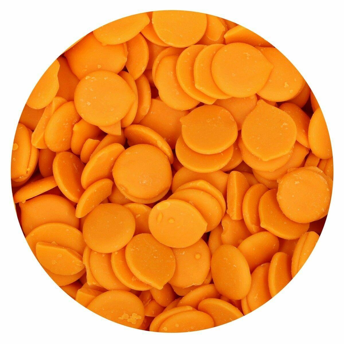 FunCakes Deco Melts -ORANGE -Πορτοκαλί 250γρ