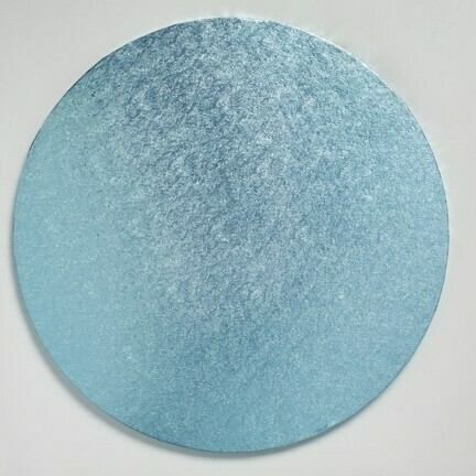 "Cake Drum Round -LIGHT BLUE 30cm (12"") - Μπλε Ανοιχτό Στρογγυλή Βάση 30εκ -Πάχος 13χιλ"