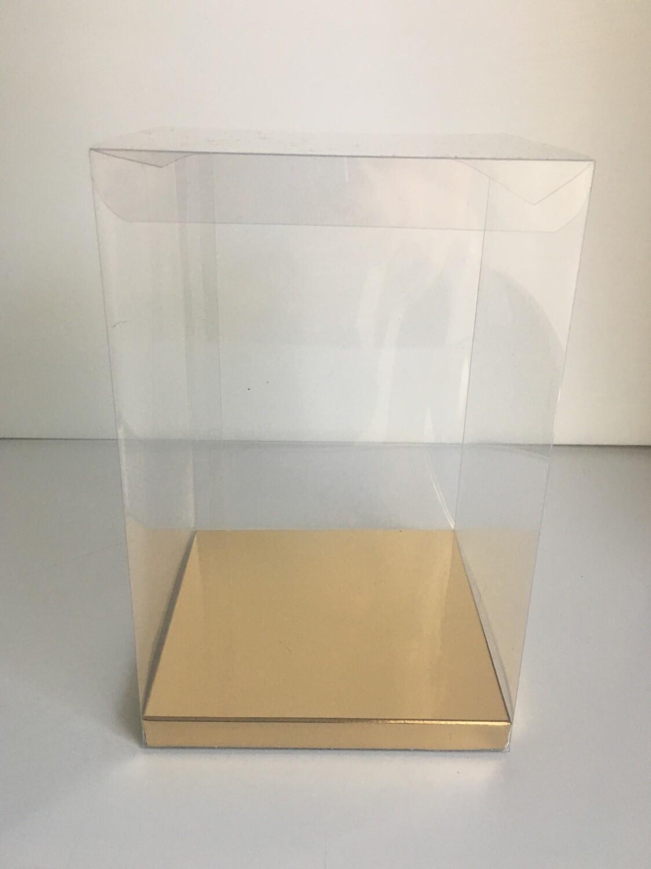 # Clear Display Box -Διάφανο Κουτάκι για Cupcake 12x12x15εκ