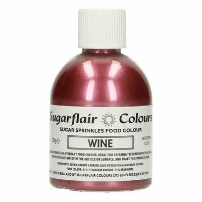 Sugarflair -Sparkling Sugar Sprinkles -WINE 100g ΖΑΧΑΡΗ -