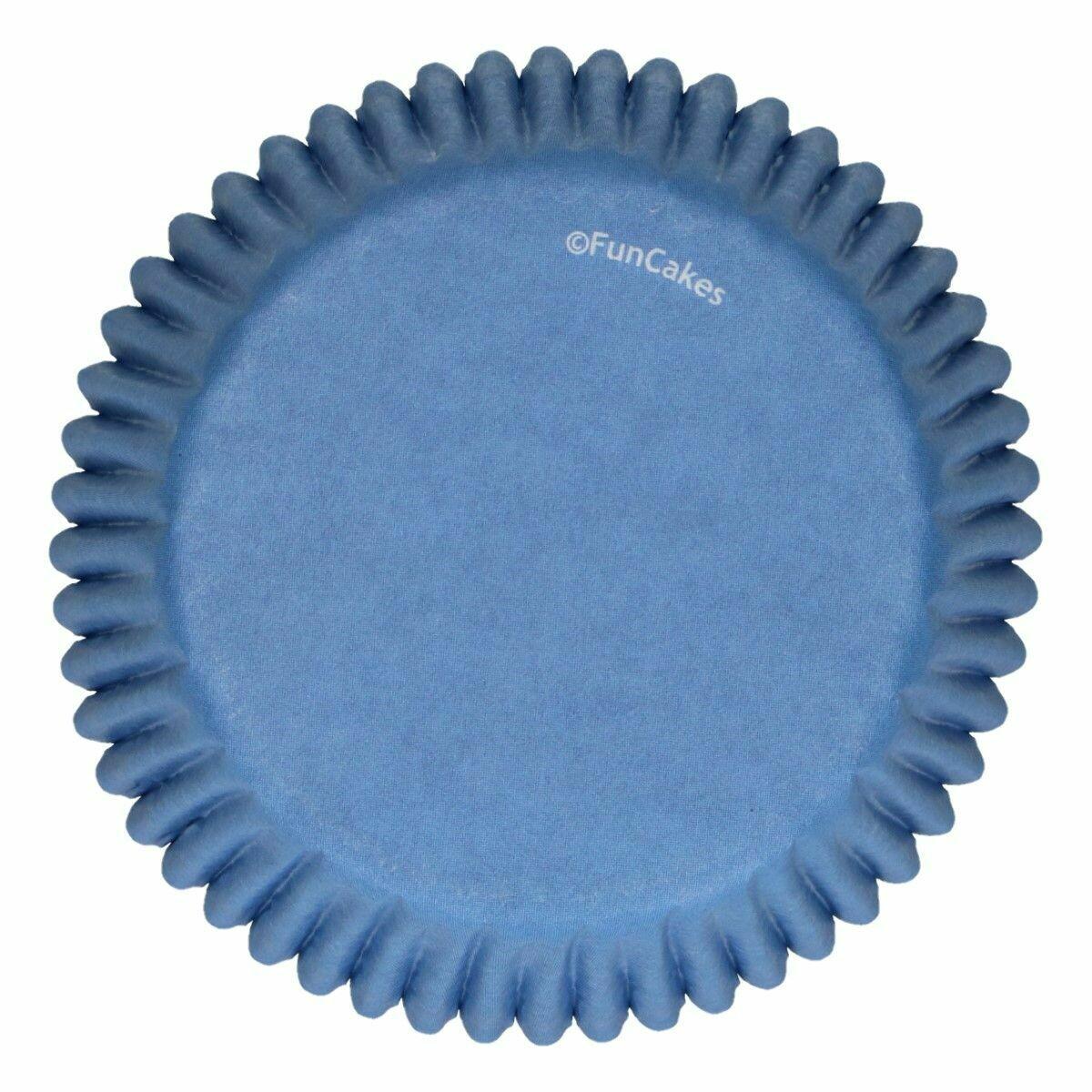 FunCakes Cupcake Cases -ROYAL BLUE -Θήκες Ψησίματος -Μπλε Βασιλικού -48 τεμ