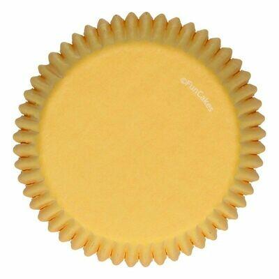 FunCakes Cupcake Cases -YELLOW -Θήκες Ψησίματος -Κίτρινο -48 τεμ