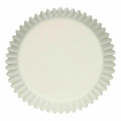 FunCakes Cupcake Cases -WHITE -Θήκες Ψησίματος -Λευκό -48 τεμ