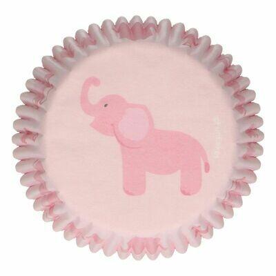 FunCakes Cupcake Cases -BABY GIRL -Θήκες Ψησίματος -Κοριτσίστικο Σχέδιο -48 τεμ