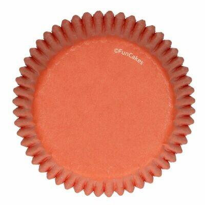 FunCakes Cupcake Cases -ORANGE -Θήκες Ψησίματος 48 τεμ