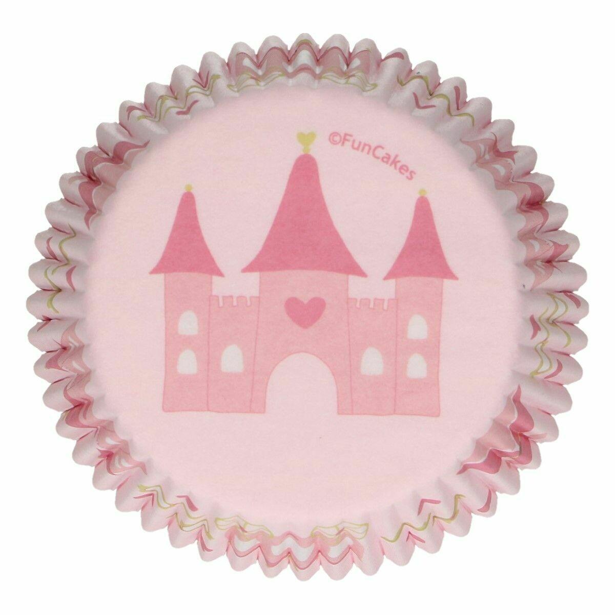 FunCakes Cupcake Cases -PRINCESS -Θήκες Ψησίματος 48 τεμ