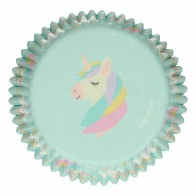 FunCakes Cupcake Cases -UNICORN -Θήκες Ψησίματος 48 τεμ