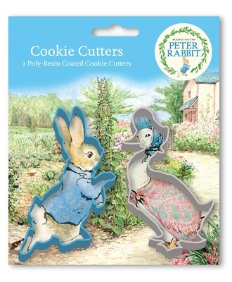 By AH -Set of 2 Cookie Cutters -PETER RABBIT