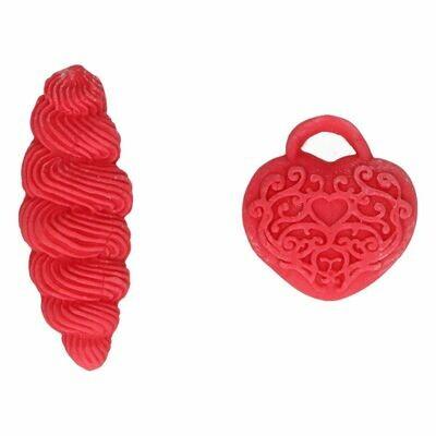 FunCakes FunColours GEL -POPPY RED -Χρώμα Πάστας -Κόκκινο παπαρούνας 30γρ