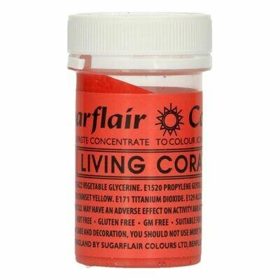 Sugarflair Paste Colours -LIVING CORAL -Χρώμα Πάστα -Ζωικά κοράλλια