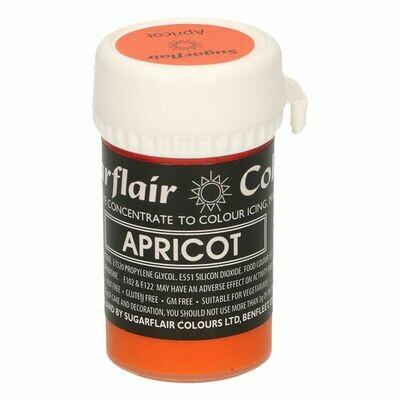 Sugarflair Paste Colours -PASTEL APRICOT -Χρώμα Πάστα -Παστέλ βερίκοκο