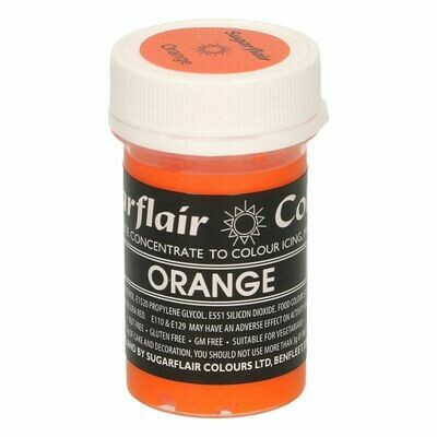 Sugarflair Paste Colours -PASTEL ORANGE -Χρώμα Πάστα -Παστέλ Πορτοκαλί