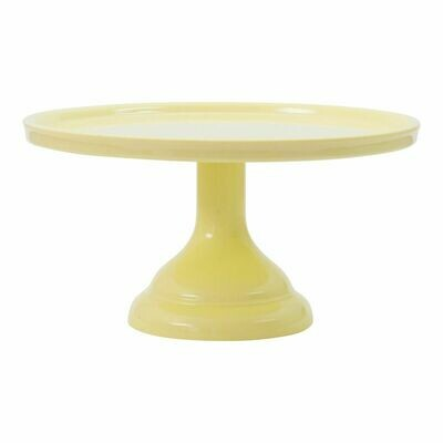 Melamine Cake Stand -SMALL YELLOW -Βάση Για Τούρτα απο Μελαμίνη -Μικρό Κίτρινο 24εκ