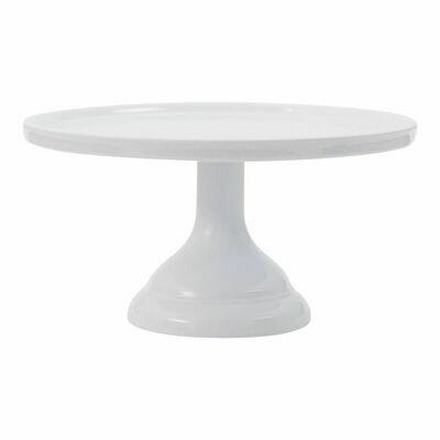 Melamine Cake Stand -SMALL WHITE -Βάση Για Τούρτα απο Μελαμίνη -Μικρό Λευκό 24εκ