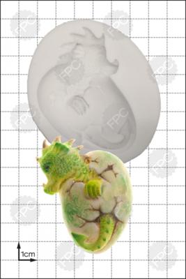 FPC Silicone Mould -HATCHING DRAGON -Καλούπι - Εκκολαπτόμενο δρακάκι