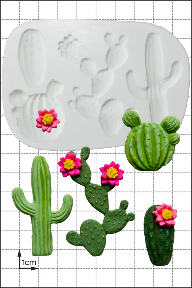 FPC Silicone Mould -CACTUS -Καλούπι 'Κάκτος'