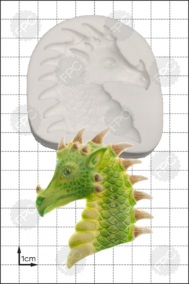 FPC Silicone Mould -DRAGON HEAD -Καλούπι 'Κεφαλή δράκων'