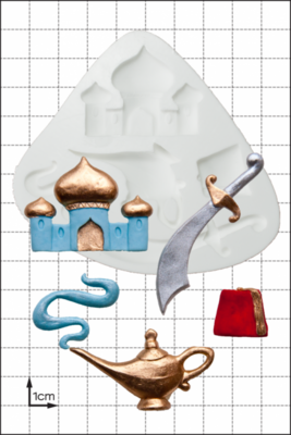 FPC Silicone Mould -Aladdin -Καλούπι 'Αλαντίν'