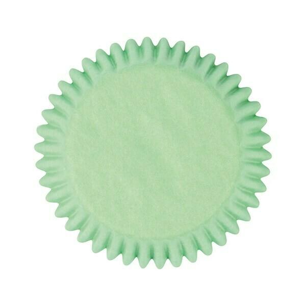 Cake Star Cupcake Cases -PLAIN PASTEL GREEN -Θήκες Ψησίματος -Παστέλ Πράσινο 50 τεμ