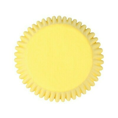 Cake Star Cupcake Cases -PLAIN YELLOW -Θήκες Ψησίματος -Κίτρινο 50 τεμ