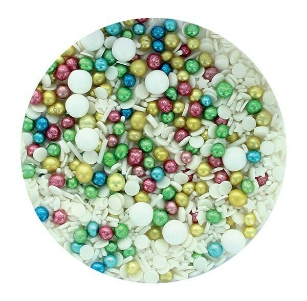 Purple Cupcakes Sprinkle Mix -VINTAGE MIX -100γρ Ανάμεικτα Κονφετί/Πέρλες