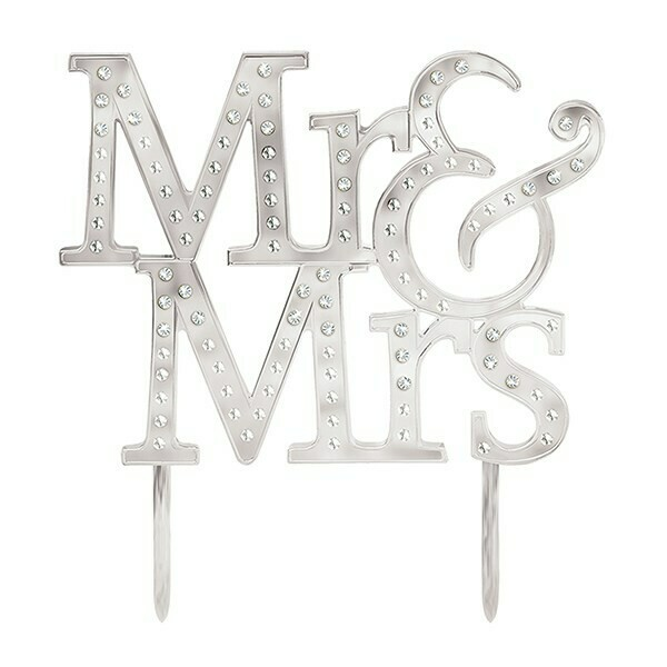 SALE!!! Cake Topper -Mr & Mrs
