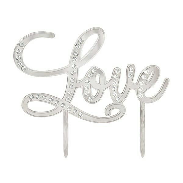 Cake Topper -'Love'