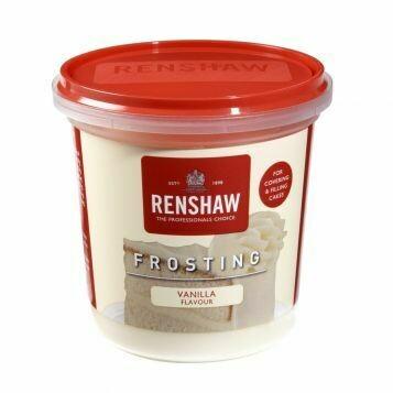 Renshaw Pro Ready-To-Use Frosting Vanilla -400g Ετοιμο frosting
