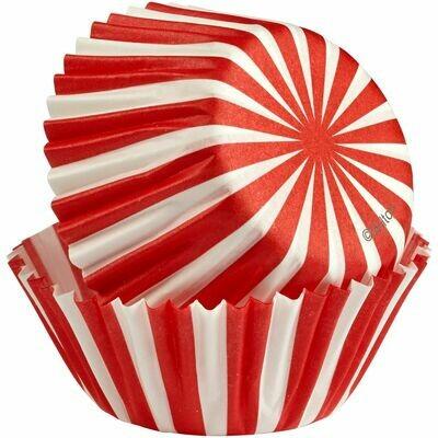 Wilton Christmas Cupcake Cases -MINI -NORTH POLE -μίνι θήκες ψησίματος 100τμχ
