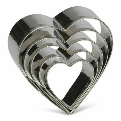 Patisse Cookie Cutters -HEARTS 5 τεμ. Κουπάντ ΚΑΡΔΙΕΣ