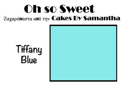Ζαχαρόπαστα 'Oh So Sweet' από την Cakes By Samantha 5 Κιλά -TIFFANY BLUE