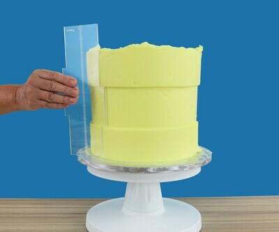 PME Acrylic Side Scraper Latitude Ring For 20εκ & 25εκ Tall Cakes