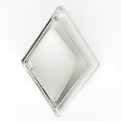 Cookie Cutter -Geometric Set 0f 3 -DIAMOND - Κουπάτ σετ 3τμχ. Σχήμα Διαμαντιού