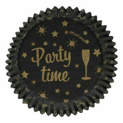 FunCakes Cupcake Cases -PARTY TIME -Θήκες Ψησίματος 48 τεμ