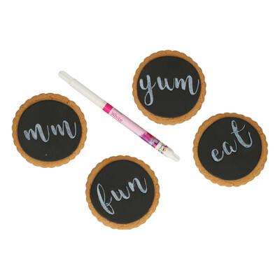 FunCakes Edible Brush Food Pen -WHITE -Βρώσιμος Μαρκαδόρος με Μύτη Πινέλου -Λευκό