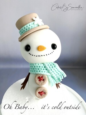 Χιονάνθρωπος από την Σαμάνθα - ΔΙΑΘΕΣΙΜΟ ΜΟΝΟ ΑΠΟ ΤΟ ΚΑΤΑΣΤΗΜΑ