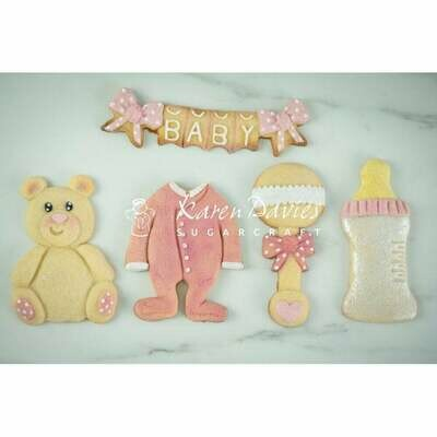 Karen Davies Silicone Mould -BABY SHOWER - Καλούπι