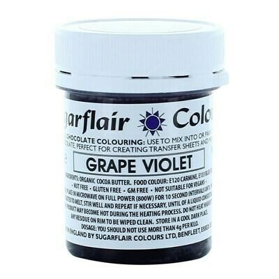 Sugarflair Chocolate Colour -GRAPE VIOLET 35g - Χρώμα σοκολάτας -Μωβ/Βιολετί